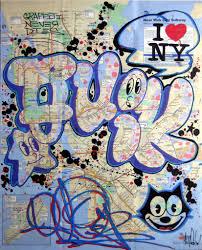 Ny Transit Map Graffiti Never Dies