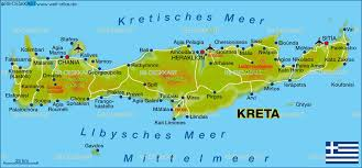 Crete Map Map Of Crete Greece Map In The Atlas Of The World World Atlas