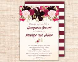 honeymoon bridal shower garden honeymoon shower invitations printable purple