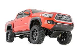 suspension lift kits for toyota tacoma 6in suspension lift kit for 2016 2017 toyota 4wd tacoma 75820