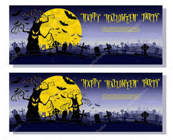 Scary Monsters For Halloween Halloween Background Scary Monsters Trees On Old Cemetery