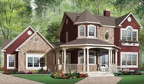 5 bedroom home house plan w2896a detail from drummondhouseplans com