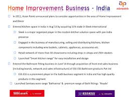 Home Decor Brands In India Asian Paints Asnqy Presents At Ubs India Conference Slideshow