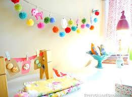 Party Room For Kids by Cute Pom Pom Crafts Pom Pom Garland Garlands And Craft