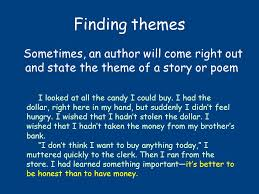 themes for my story how can i find the theme of a text what is theme theme is the