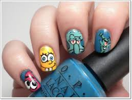 childhood memories u201417 cartoon nail art designs and how to