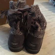 s isla ugg boot 80 ugg shoes ugg isla casual knit lace up boots from