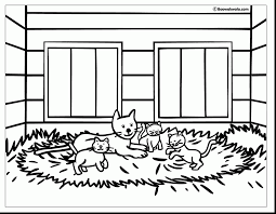 Good Barn Good Barn Quiet Book Template With Barn Coloring Pages