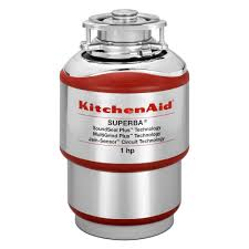 kitchenaid 1 hp continuous feed garbage disposal kcds100t the