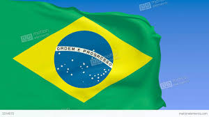 Brazil Flag Image Brazil Flag With Soccer Ball Stock Animation 3314070