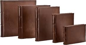small leather photo album leather journals photo albums notebooks handmade in italy epica