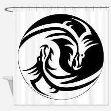 yin yang dragon bathroom accessories u0026 decor cafepress