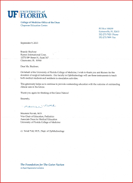 business letters thank you letter for donation design templates