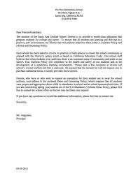cover letter parent facilitator