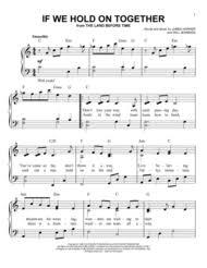 diana ross land movie sheet music