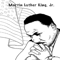 Martin Luther King Day Coloring Pages Surfnetkids Dr Martin Luther King Jr Coloring Pages