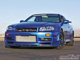 r34 nissan r34 gt r v spec ii skyline modified magazine