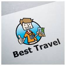 best travel logo bevouliin