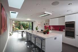 extension kitchen ideas stylish kitchen design in a modern home adelto adelto