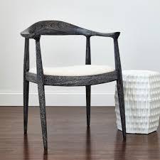 Simple Armchair Simple Danish Style Dining Chair Mecox Gardens