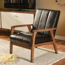 Tan Leather Accent Chair Home Decorators Collection Moore Havana Brown Wing Back Accent