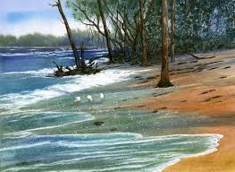 paint places painting wild places with watercolors learn to paint cayo costa