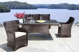 outdoor wicker dining table wicker patio furniture shop patio furniture at cabanacoast