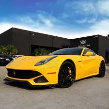 Ferrari F12 Yellow - ferrari f12 berlinetta the auto firm