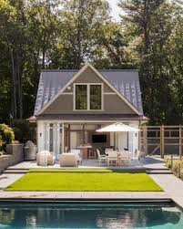 gambrel homes hilltop gambrel pool house lda architecture and interiors