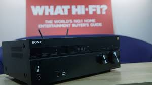 small home theater receiver sony str dn860 av receiver review youtube