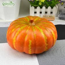Fake Fruit Centerpieces by Online Get Cheap Foam Pumpkins Aliexpress Com Alibaba Group