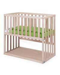 Baby Crib Next To Bed Childwood Co Sleeping Bedside Crib With Wheels 90x50 Cm Beech