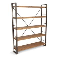 Industrial Bookcases Brooklyn Large Open Bookshelf 59
