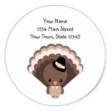 kawaii turkey stickers zazzle