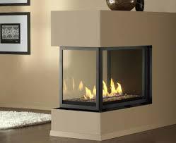 ideas u0026 tips 3 sided montigo fireplace in black
