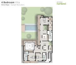 floor plans hartland estates mbr city by sobha group