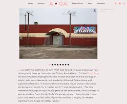 aiga eye on design reviews disco polo photobook u2014 paulina