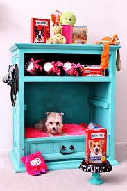 How To Make End Table Dog Crate by 31 Creative Diy Dog Beds You Can Make For Your Pup Dog Cabinet
