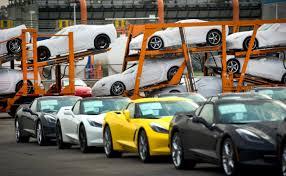 corvette car crash deliveries of the all 2014 chevrolet corvette stingray begin