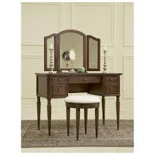 Antique Vanity Table Interior Lovely Bedroom Furniture With Vintage Solid Wood Dresser