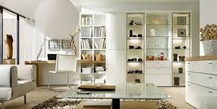 bibliothèque bureau intégré meubles de composition hülsta encado avec vitrine bibliothèque