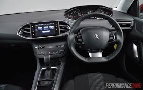peugeot 3008 2015 interior 2015 peugeot 308 touring 1 6t review video performancedrive