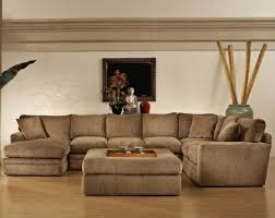 Velvet Sectional Sofa U Shape Brown Velvet Sectional Sofa With Right Chaise Lounge And