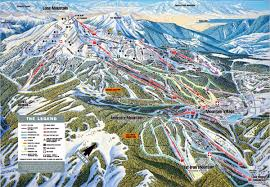 Keystone Colorado Map by Big Sky Resort Skimap Org
