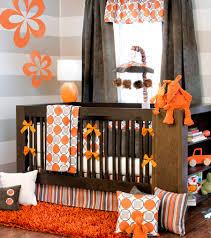 Orange Crib Bedding Orange Crib Bedding Sets Home Inspirations Design