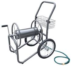 Wall Mounted Hose Reels Garden Metal by Garden Hose Cart With Wheels1 L I H How To Start An Herb Garden
