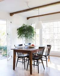 chairs to go with farmhouse table best solid wood farmhouse table with stretchers and breadboards pic