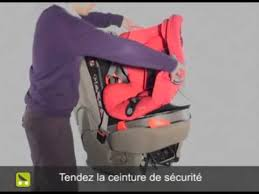 siege auto axiss aubert 03 bébé confort axiss installation ceinture