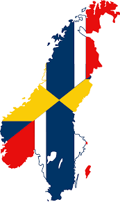 file flag map of sweden norway svg wikimedia commons