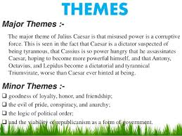 story themes about friendship julius caesar story english literature
